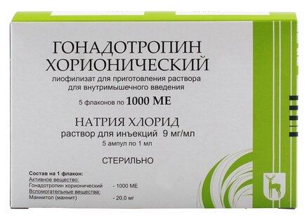 гонадотропин хорионический простатит