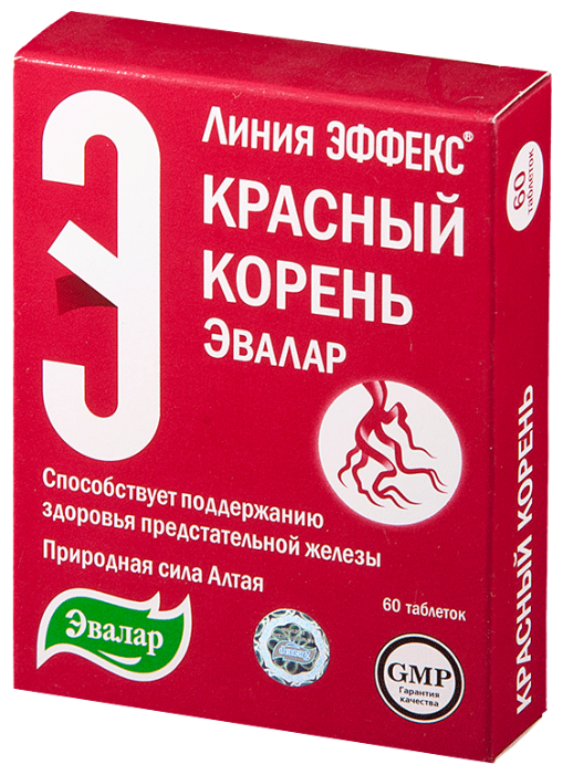 Красный корень от простатита эвалар бисептол как назначают при простатите